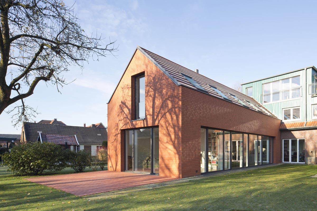 Münster Architekten wohnhaus in ottmarsbocholt bastian architekten münster